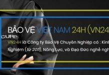 công ty bảo vệ sụ kiện Việt Nam 24h