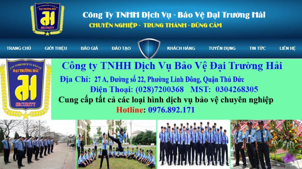 Công ty TNHH DV BV Đại Trường Hải