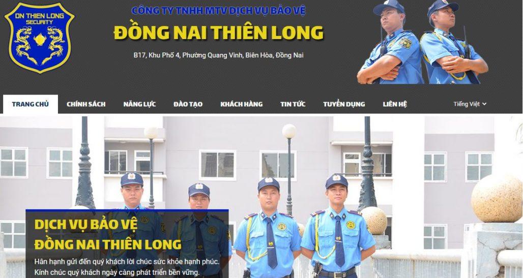 Công Ty TNHH MTV Dịch Vụ Bảo Vệ Đồng Nai Thiên Long