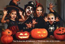 Top 8 shop bán đồ halloween ở TPHCM độc đáo và thú vị nhất năm nay