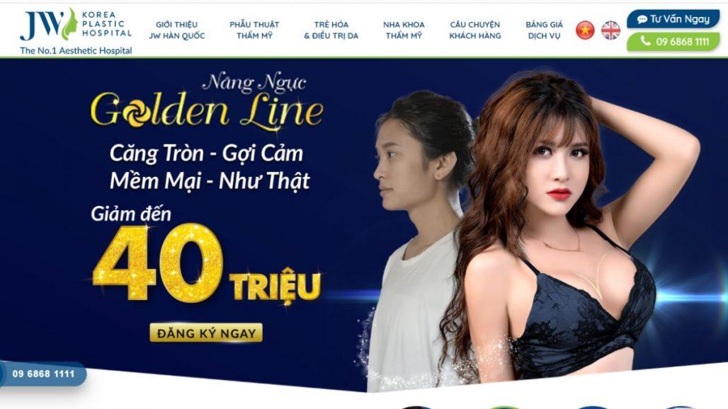 TOP 10 THẨM MỸ VIỆN CHO NỮ UY TÍN TẠI TP.HCM 2021