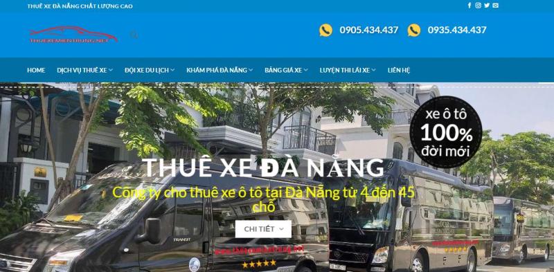 (2021)Top 10 công ty dịch vụ thuê xe ô tô uy tín tại Đà Nẵng