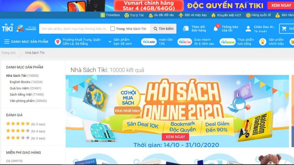 TOP 8 WEBSITES MUA BÁN SÁCH ONLINE UY TÍN NHẤT 2021