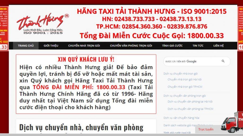 TOP 10 CÔNG TY CHUYỂN NHÀ UY TÍN TẠI TP.HCM 2021