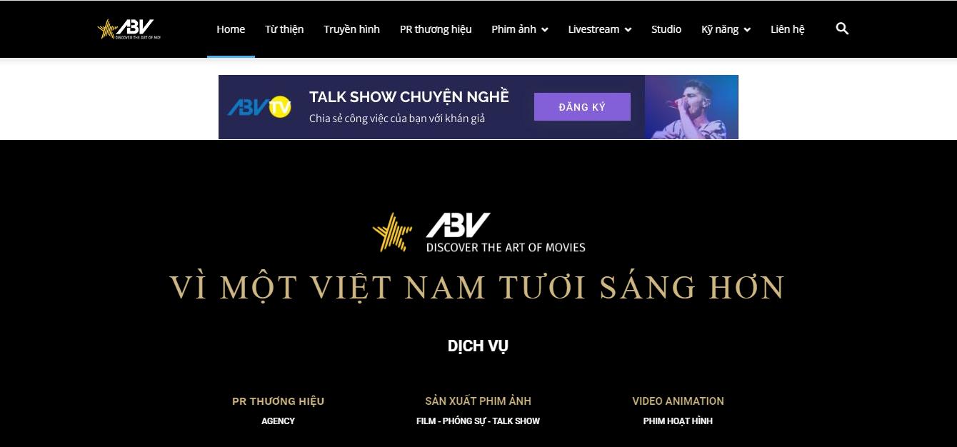 Công ty đào tạo bán hàng livestream ABV