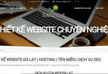 op 6 công ty thiết kế website uy tín ở Đà Lạt, Lâm Đồng 2021