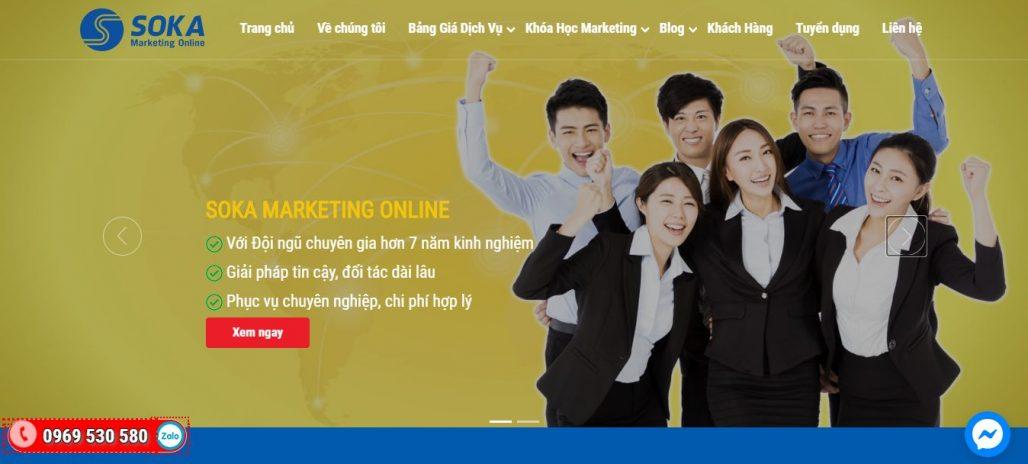 Công ty đào tạo bán hàng livestream - Soka