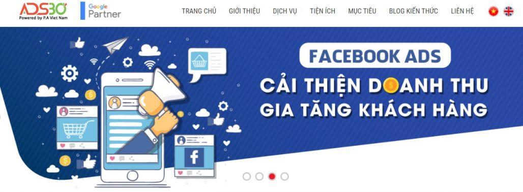 Công ty chạy quảng cáo Facebook ADS30