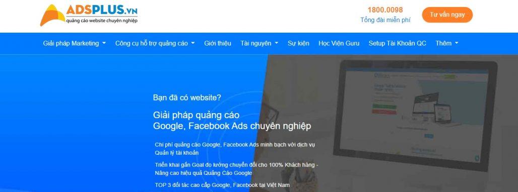 Công ty chạy quảng cáo Google Adwords ADPLUS.VN