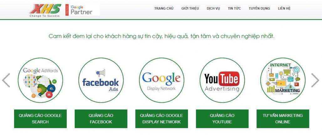 Công ty chạy quảng cáo Google Adwords Xu Hướng Số