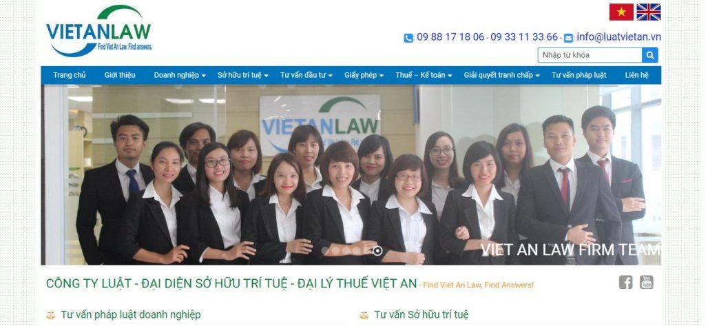 Dịch vụ thành lập công ty uy tín luật Việt An