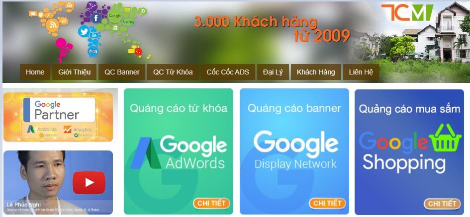 Công ty chạy quảng cáo Google Adwords Tầm Cao Mới