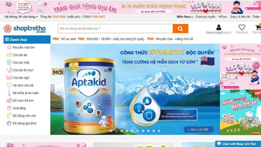 Top 10 website bán đồ mẹ và bé uy tín tại Việt Nam