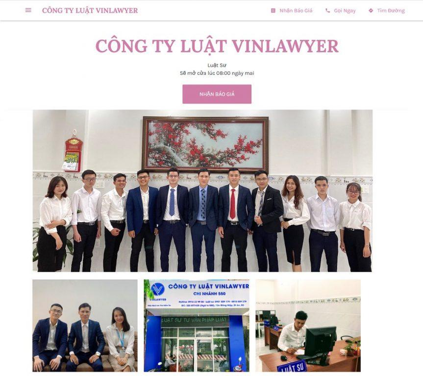 Công Ty Luật Vinlawyer