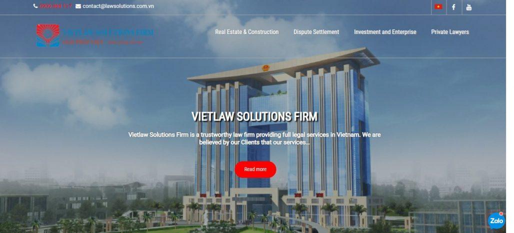 Công ty Luật Giải Pháp Việt