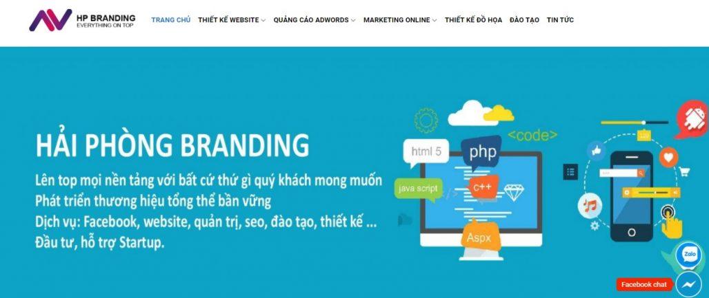 Công ty chạy quảng cáo Google Adwords HP BRANDING
