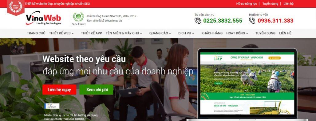Công ty chạy quảng cáo Google Adwords Vina Web