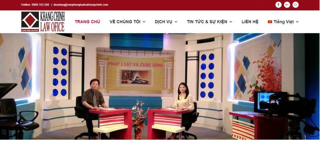 Công ty luật - Văn phòng luật sư Khang Chính