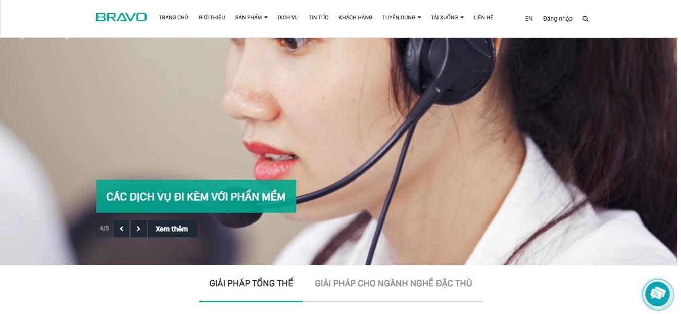 Công ty phần mềm kế toán BRAVO