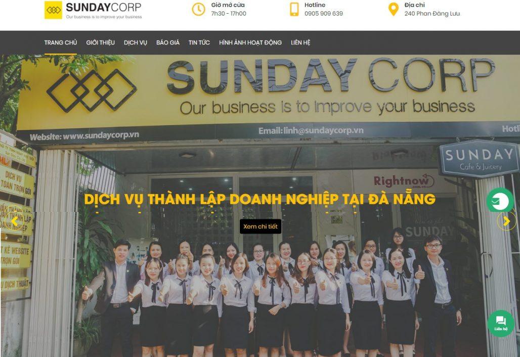 Dịch vụ thành lập công ty Ngày Mặt Trời (Sunday CORP)