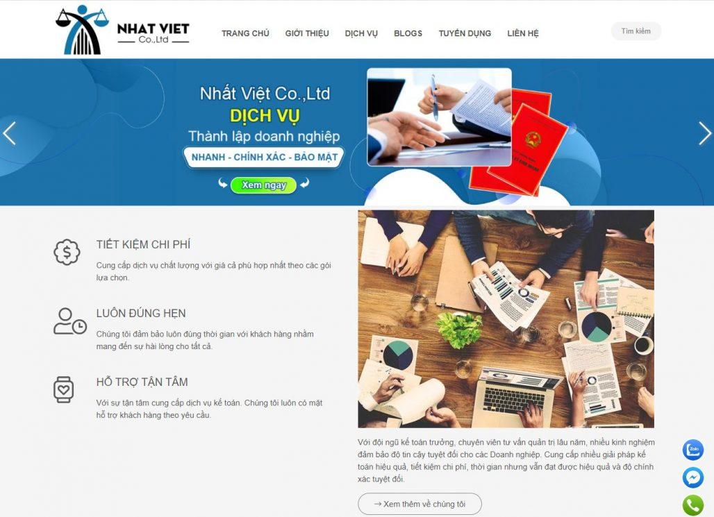 Dịch vụ thành lập công ty Nhất Việt