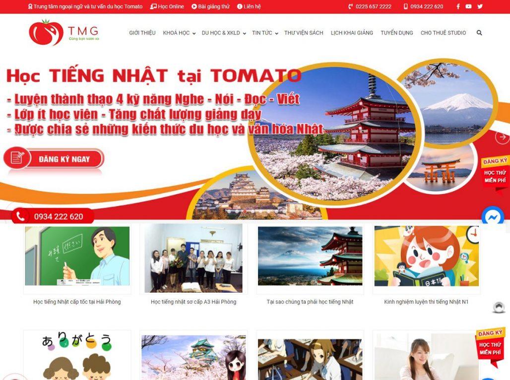 Trung tâm tiếng Nhật - Ngoại Ngữ Tomato