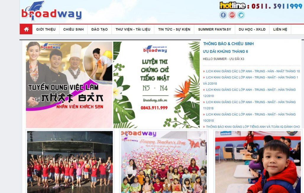 Trung tâm tiếng Nhật - Ngoại ngữ quốc tế Broad Way
