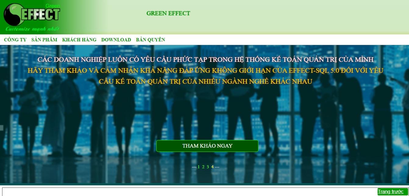 Công ty phần mềm kế toán Effect