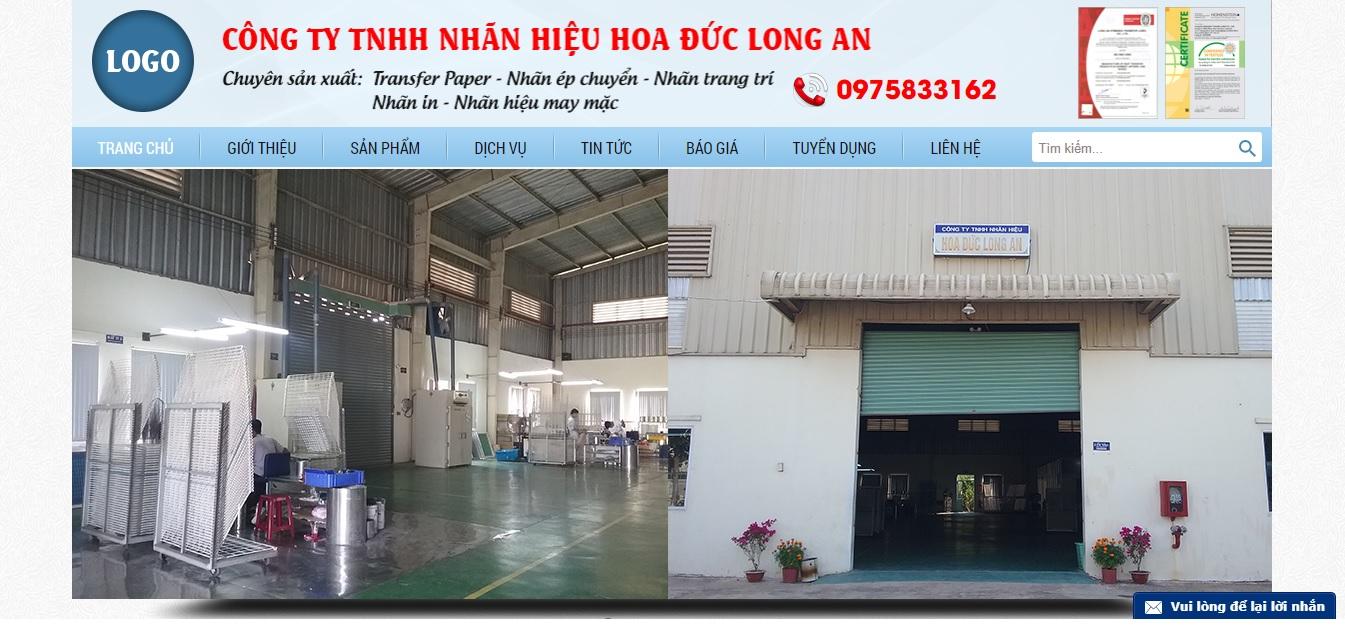 Công ty cung cấp vải và phụ liệu may Hoa Đức Long An