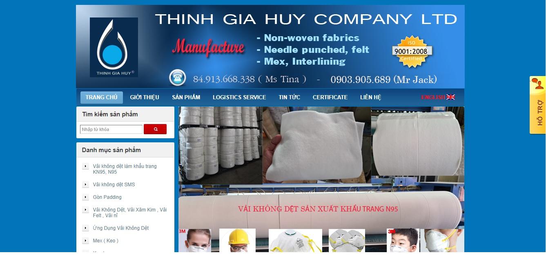 Công ty cung cấp vải và phụ liệu may Thịnh Gia Huy