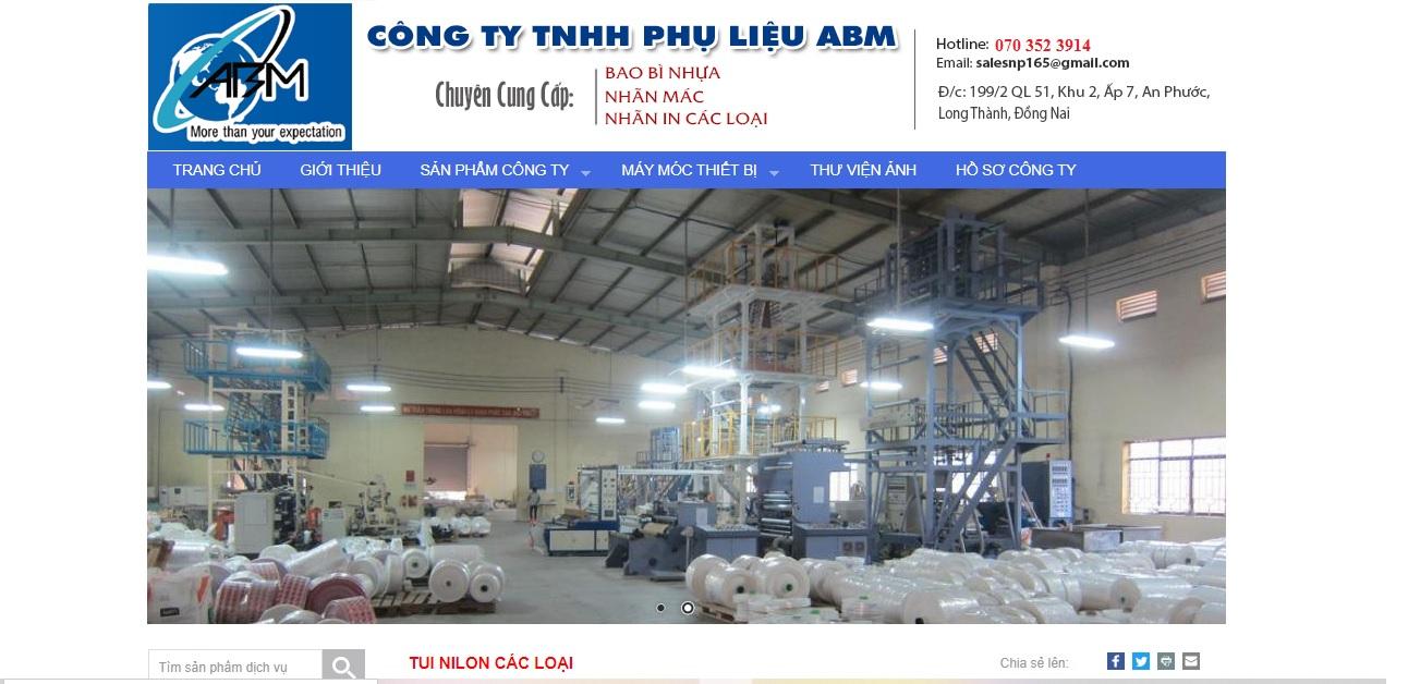 Công ty cung cấp vải và phụ liệu may mặc ABM