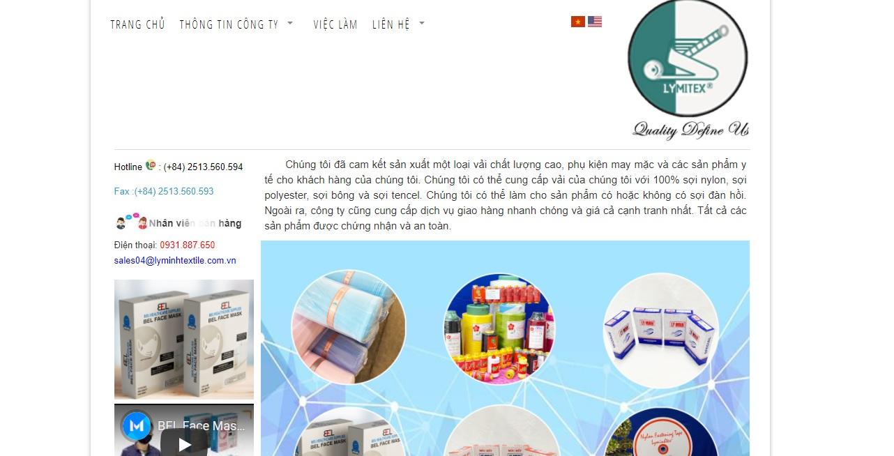 Công ty cung cấp vải và phụ liệu may mặc Lý Minh