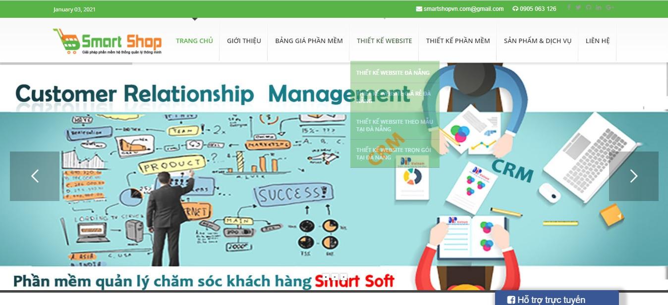 Công ty phần mềm CRM - Smartshopvn