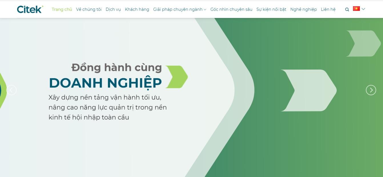 Công ty phần mềm ERP - CITEK