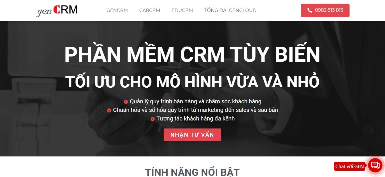 Công ty phần mềm genCRM