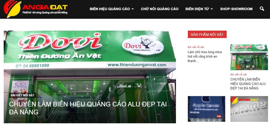 Công ty thi công bảng hiệu quảng cáo An Gia Đạt