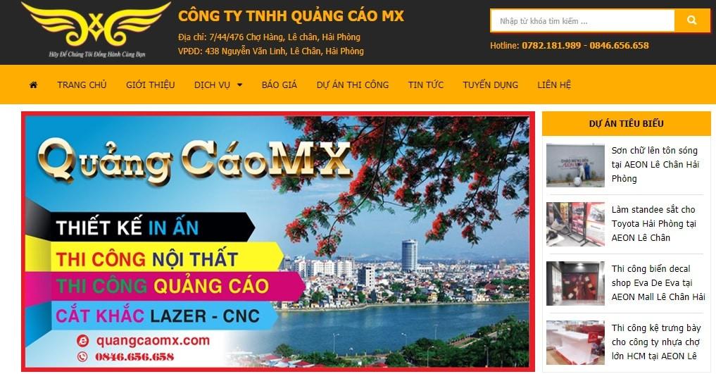 Công ty TNHH quảng cáo MX