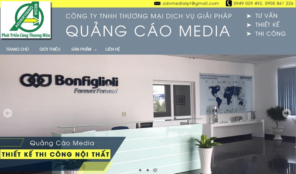 Công ty thi công bảng hiệu quảng cáo Media