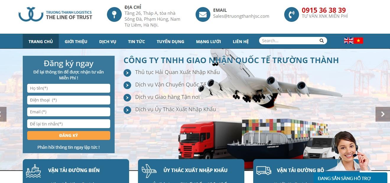 Công ty vận tải Trường Thành Logistics