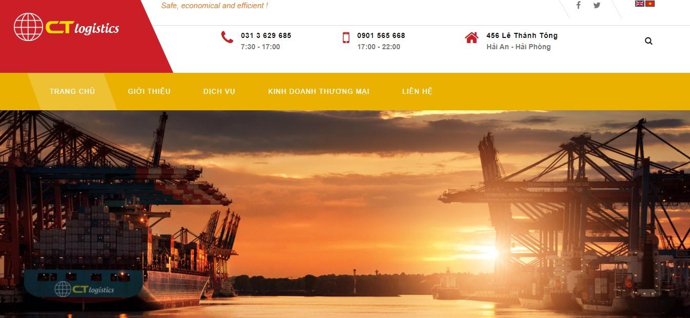 Công ty vận tải và logistics - Công Thành Logistics