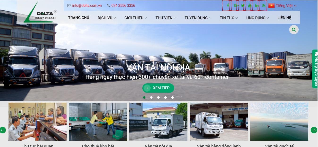 Công ty vận tải và Logistics  - Delta