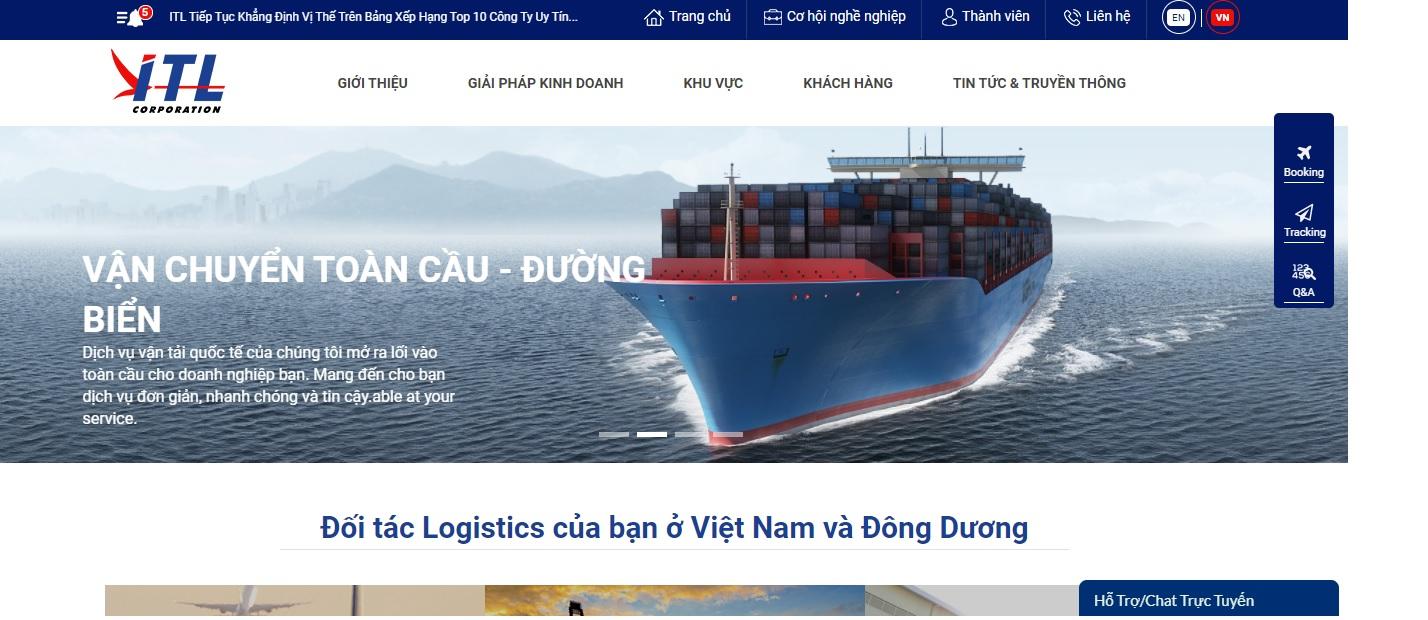 Công ty vận tải và Logistics - Indo Trans Logistics Corporation (ITL)