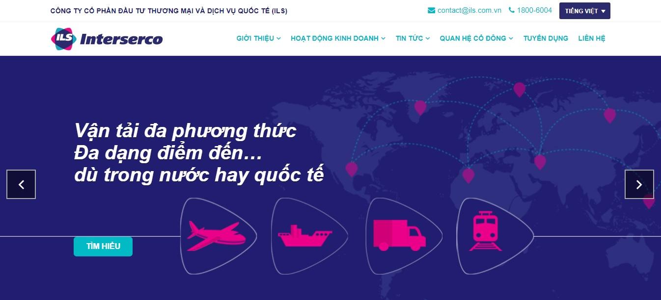 Công ty vận tải và Logistics -  Interserco Mỹ Đình