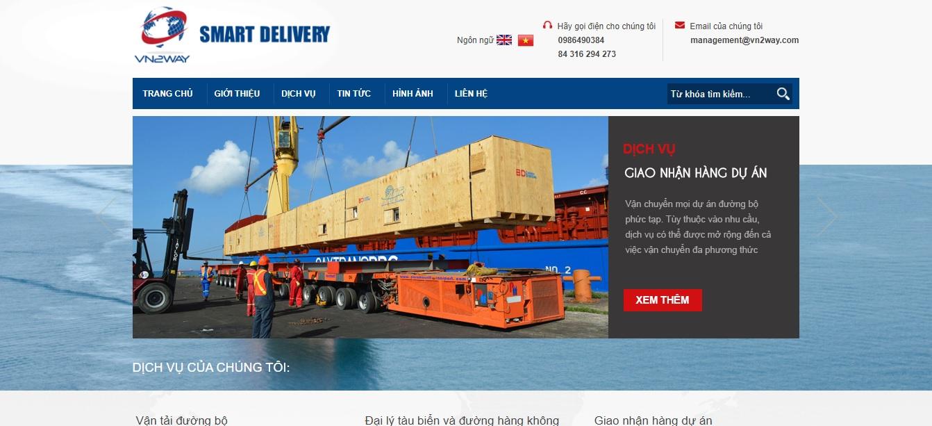 Công ty vận tải và logistics -  N2WAY Logictics