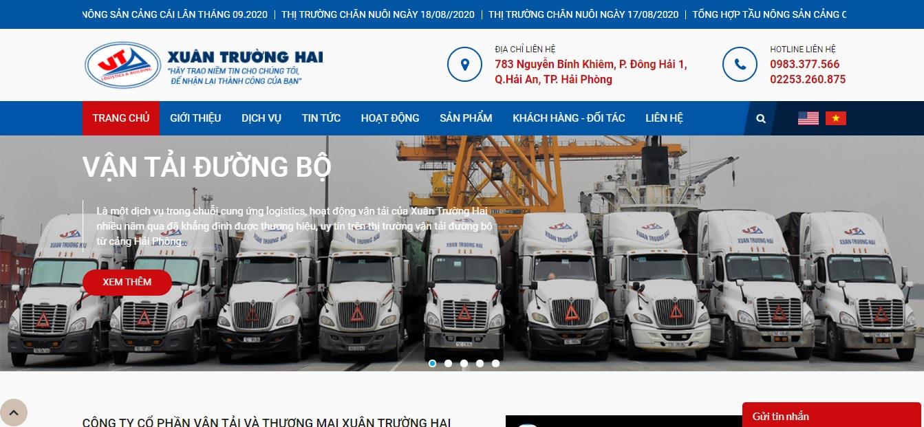 Công ty vận tải và logistics - Xuân Trường Hai