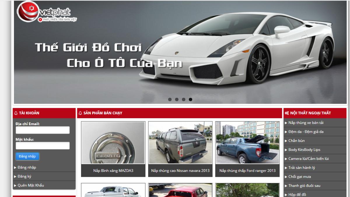 Công ty phụ kiện đồ chơi dành cho ô tô Việt Phát