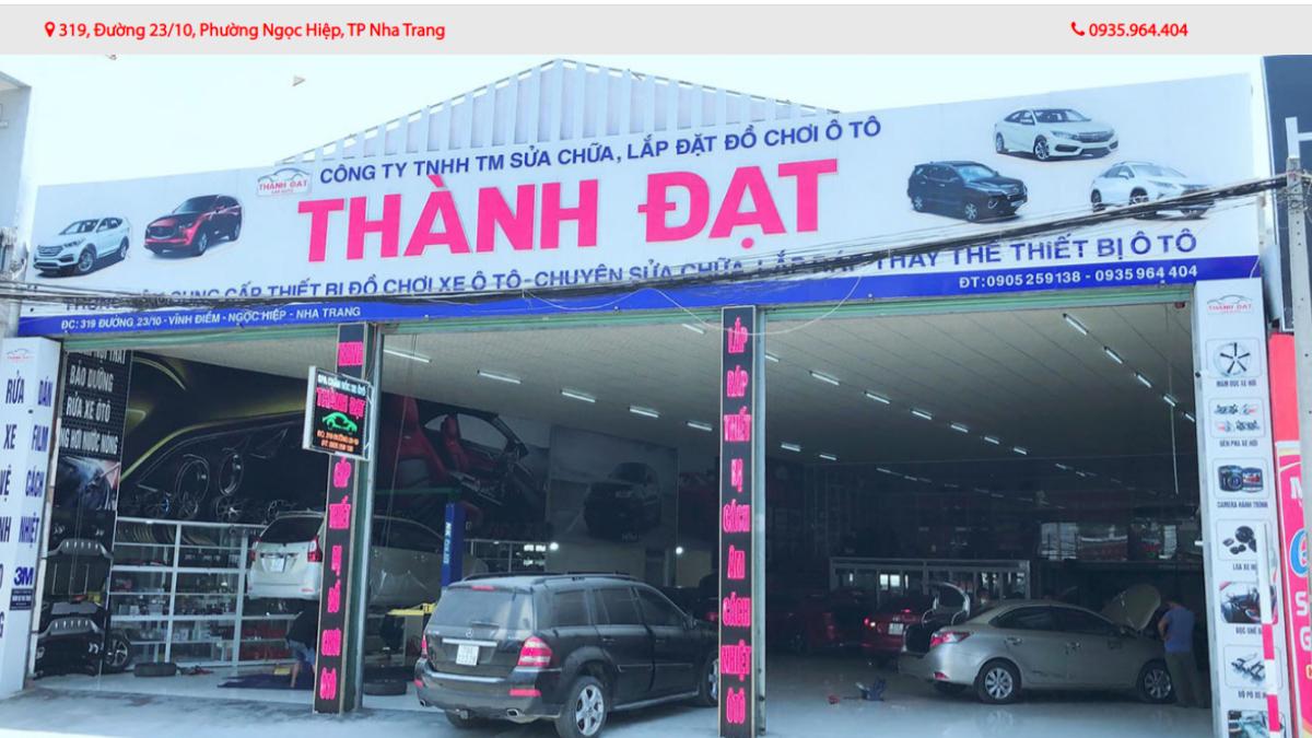 Công ty phụ kiện ô tô Thành Đạt