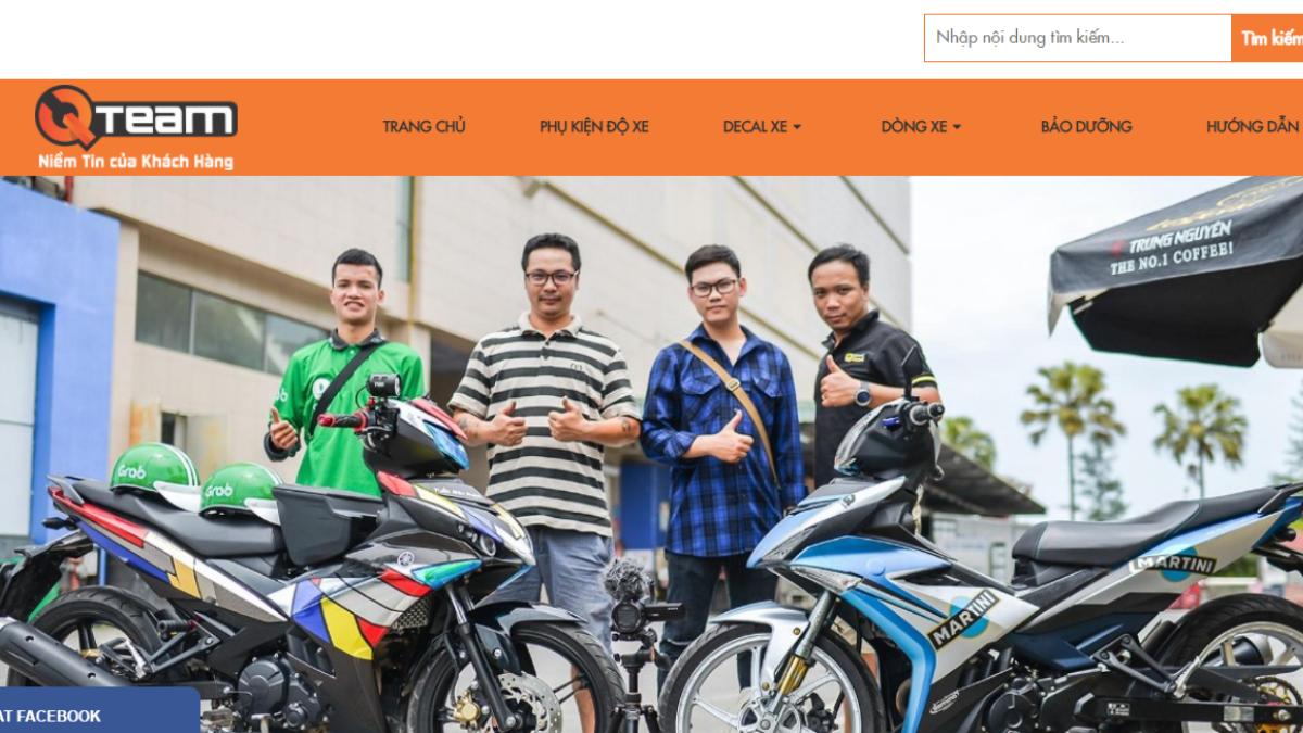 Công ty phụ tùng đồ chơi xe máy QTeam Motor