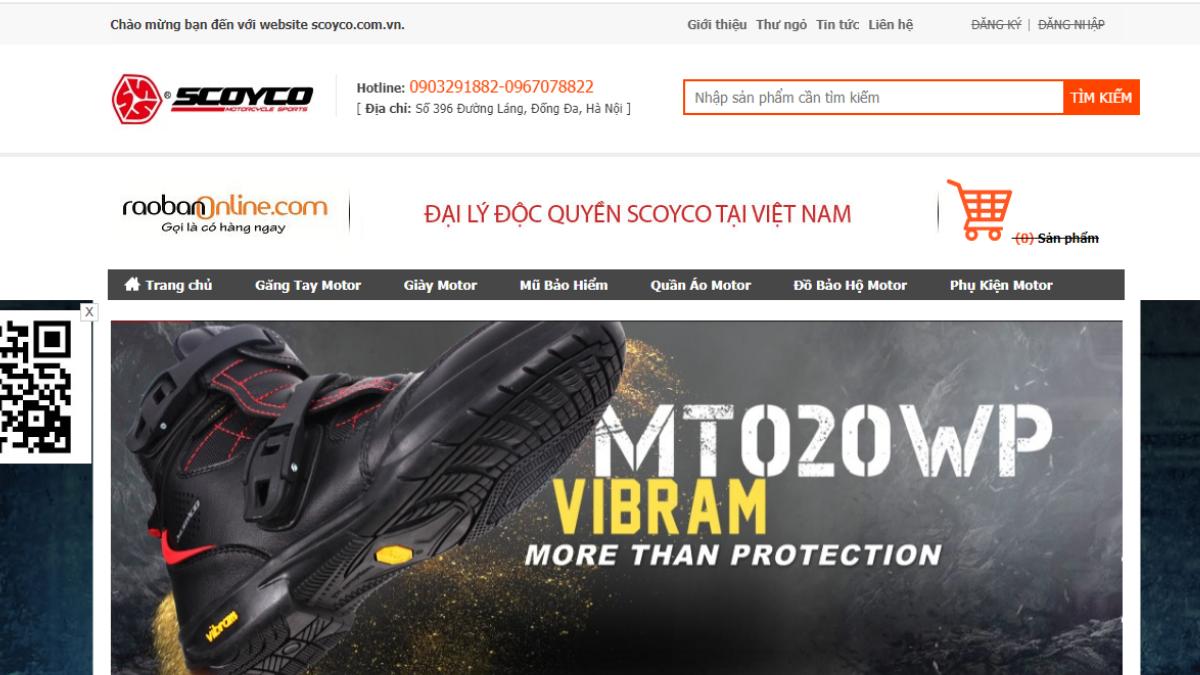 Công ty phụ kiện mô tô Scoyco Việt Nam