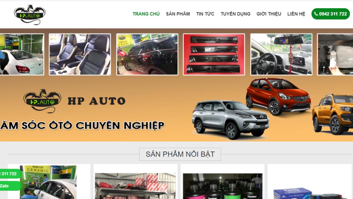 Công ty phụ tùng đồ chơi ô tô HP Auto